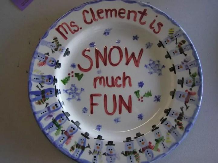 Classroom plate