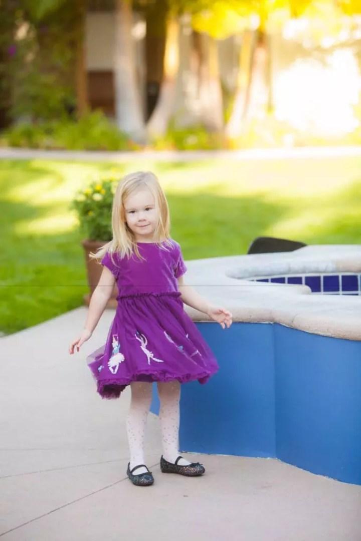 Purple Boden Dress
