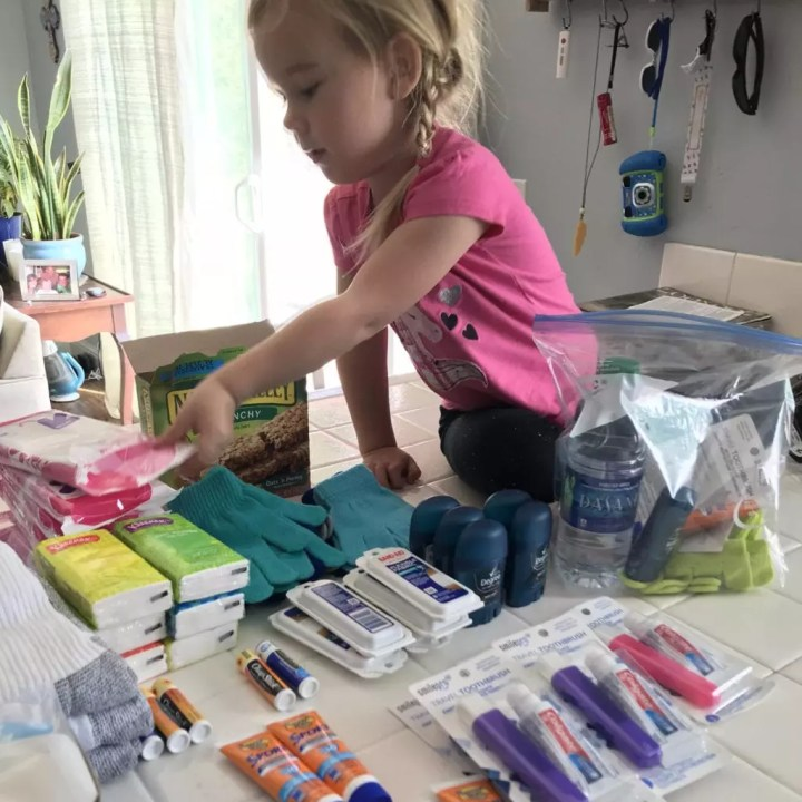 Kindness bag assembly