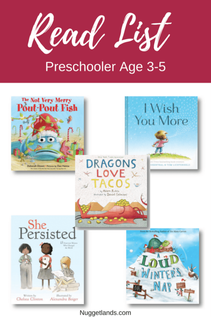 Gift Guide Books Preschool