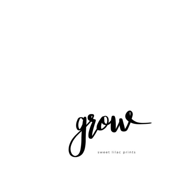 One Word Grow