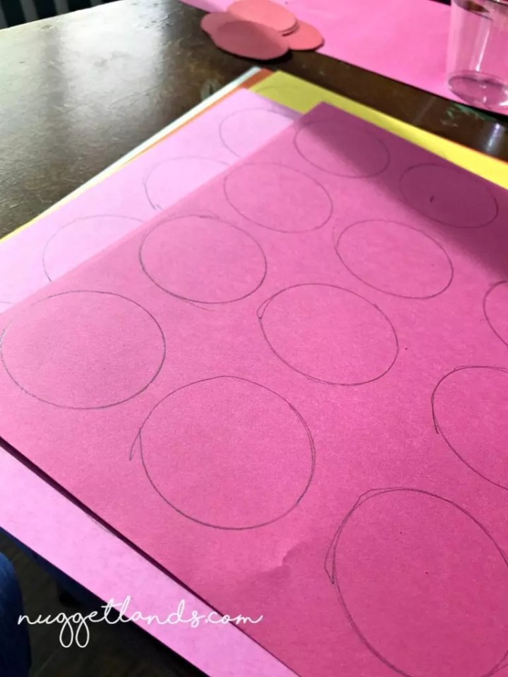 Teacher Appreciation Craft Pedal template