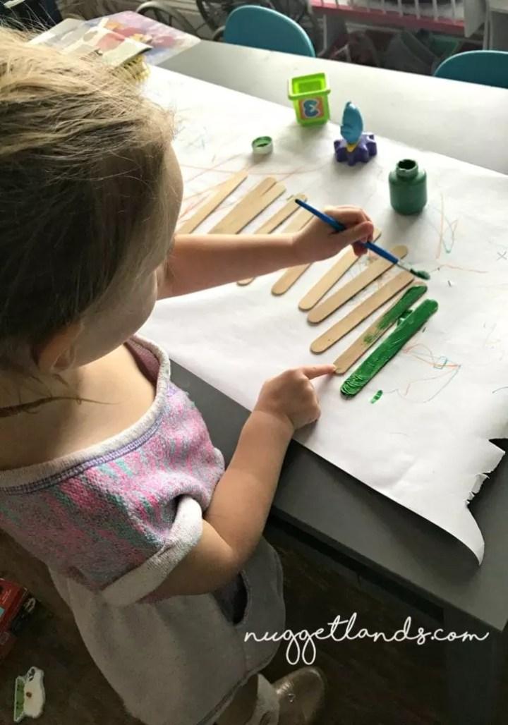 Teacher Appreciation Craft painting