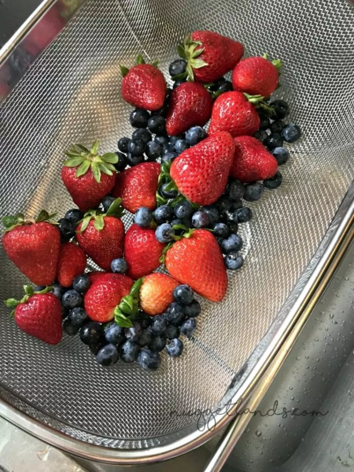 4th of july dessert berries