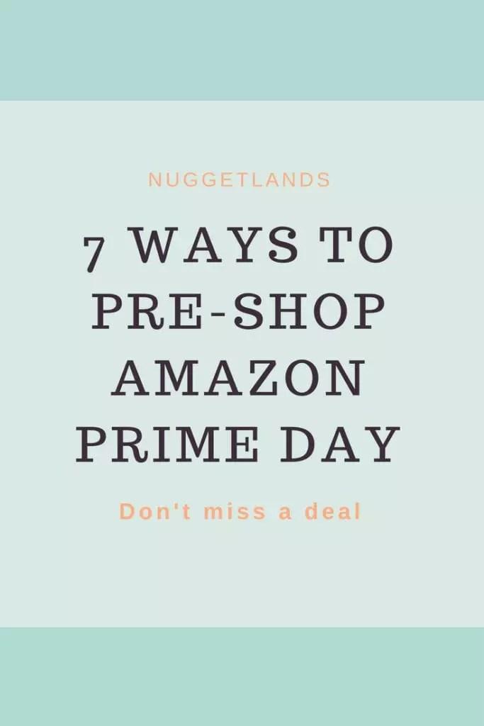 Amazon Prime Day Primer