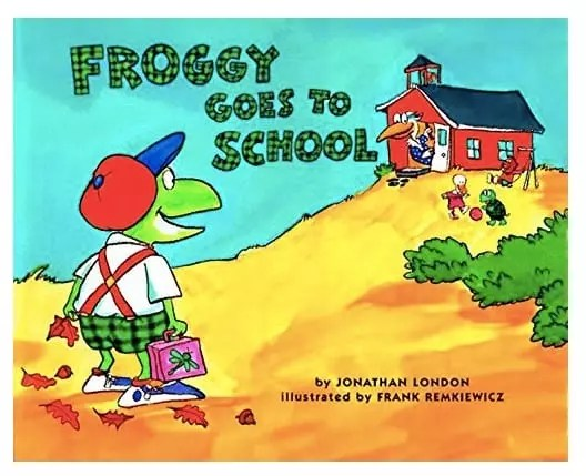 Back to School Froggy