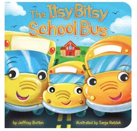 Back to School Itsy Bitsy School Bus