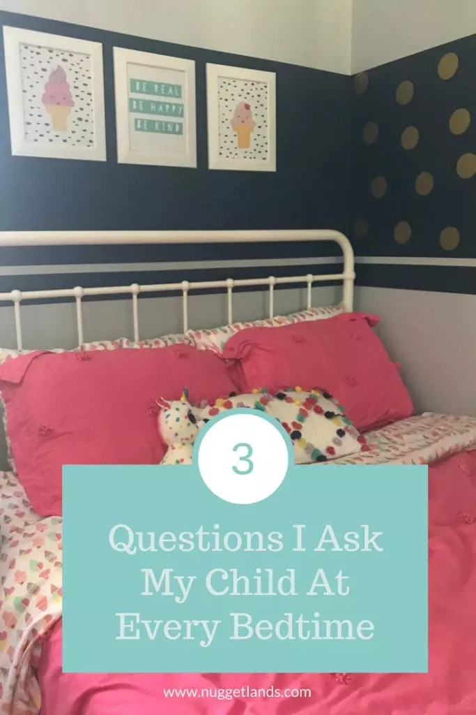3 Questions That Are Essential to our Bedtime Routine