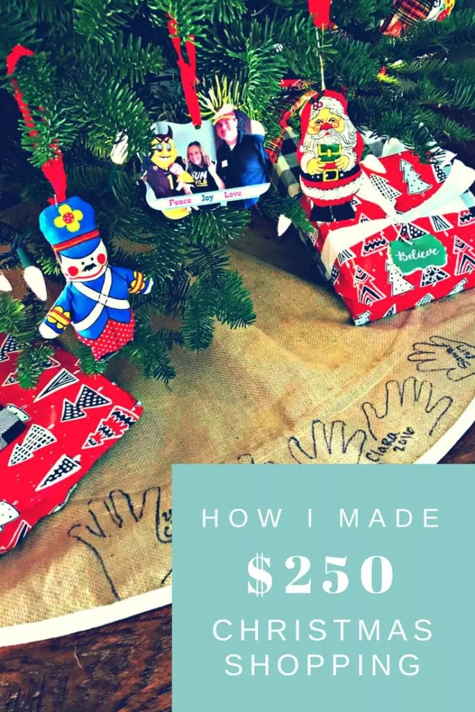 Tips on how to make cash back while you shop. Last Christmas, I made over $250 using Ebates websites, read my full review and how to use their free service to save money shopping. #shopping #money #frugal #christmas #blackfriday #coupons #cashback