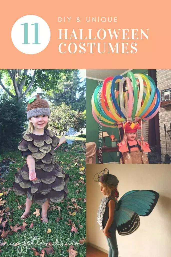 DIY Halloween Costumes - 11 Unique Ideas For Your Trick or Treater