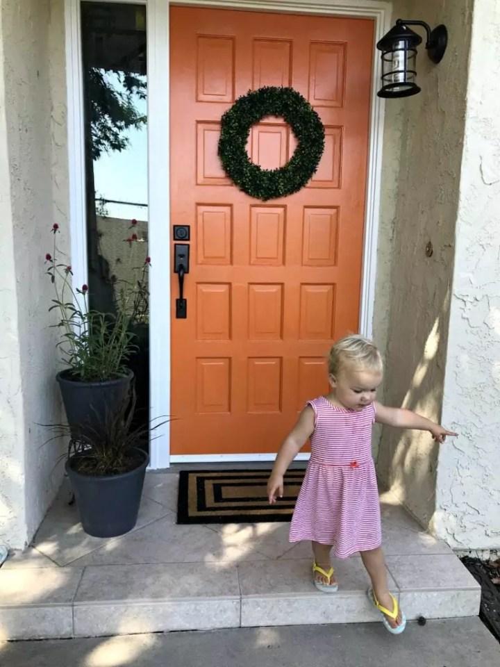 front door after little nugget