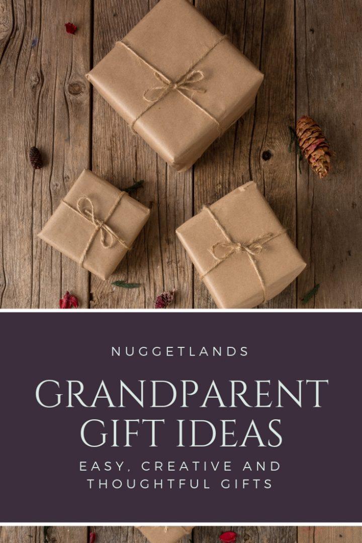 grandparents gift guide creative