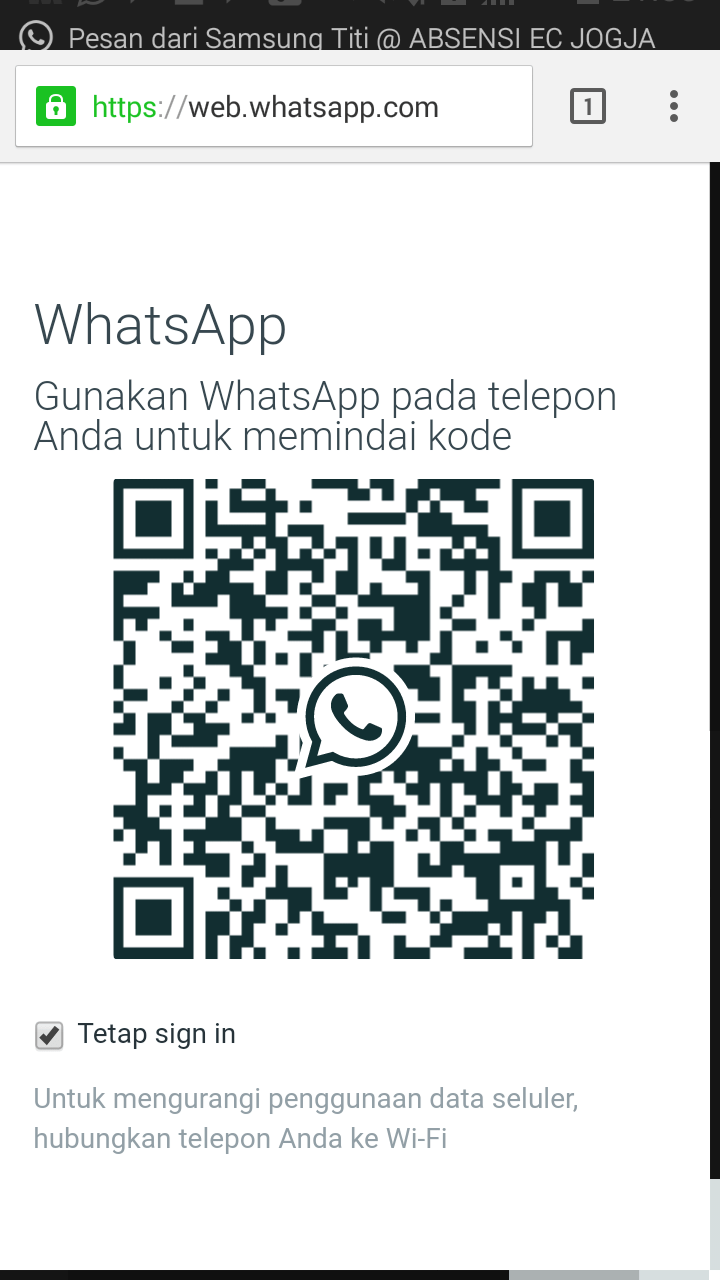 [Whatsapp Web] How to scan QR code of whatsapp on PC...