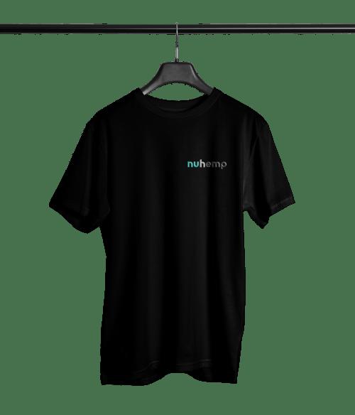 Nuhemp Signature Black Unisex T-shirt