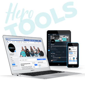 Affiliate tools banners posts blog material easy share dashboard