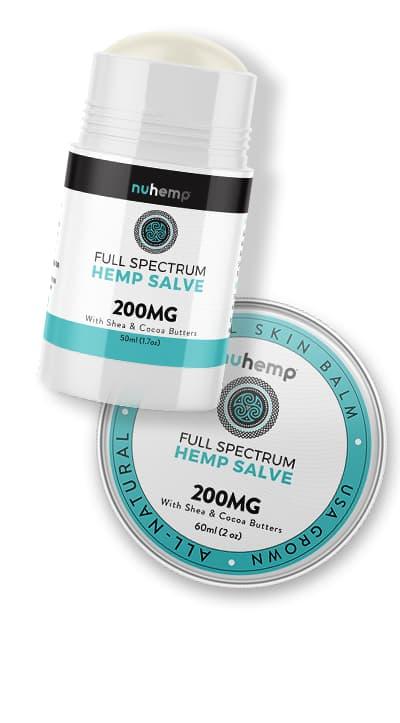 Nuhemp hemp infused skin care products
