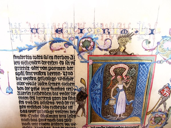 Medieval Book Illustrations Nuits Abricot