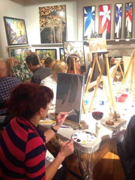 Douce Passion   Nuit des galeries
