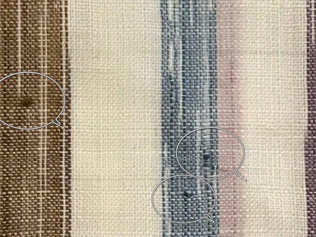 越後上布の苧麻の手績み部分