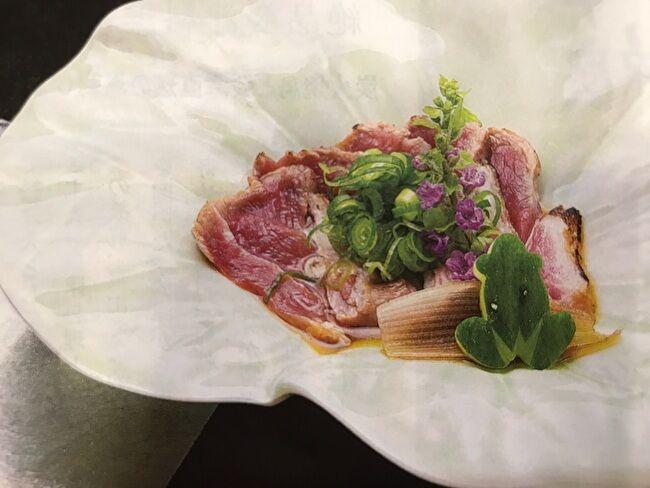日本食とワイン「かわはら」の料理
