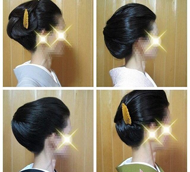 着物の髪型、結い上げ4スタイル