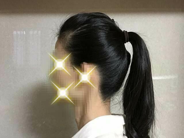 着物の髪型 簡単にお団子を作る方法 ポニーテールにする