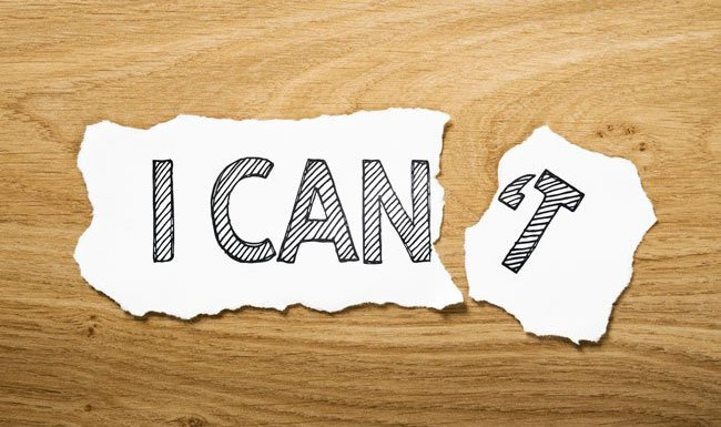 "Cut ""CAN'T"" Out Of Your Vocabulary"