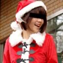 真里亜 クリスマスケーキを買ったらもれなく付いてきたケーキ売りの可愛い素人サンタ...