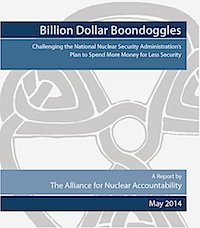 New ANA Report NNSA Boondoggles