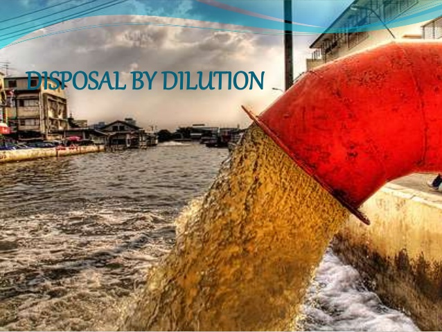 Disposal By Dilution