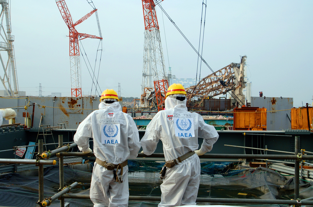 Fukushima unit 4 Nuclear Power Station