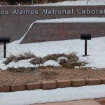 Los Alamos National Laboratory Sign