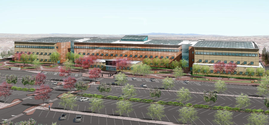 The new Albuquerque Complex of the National Nuclear Safety Administration is expected to be completed in summer 2022.