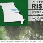 St Louis Contaminated Area Map