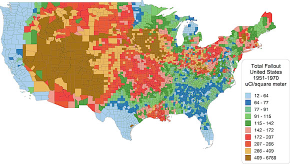 Total Fallout In US through 2009