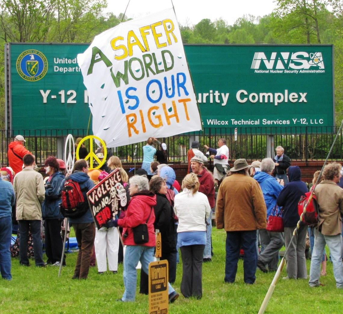 Y-12 OREPA protest 2011