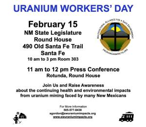 Uranium Workers Day February 15, 2019