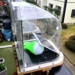 小型太陽電池+LED照明のグッズ