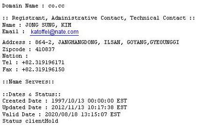 Kim Jong Sung CO-CC