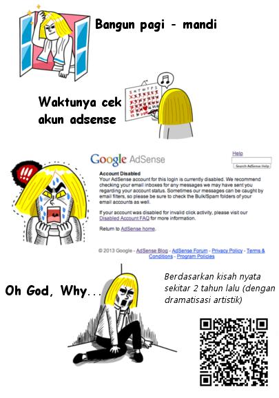 Akun Google AdSense Disabled