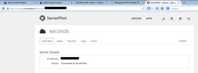 Dashboard ServerPilot