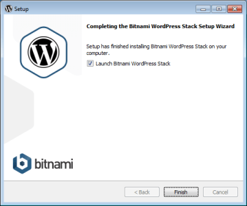 Install Bitnami WordPress Stack