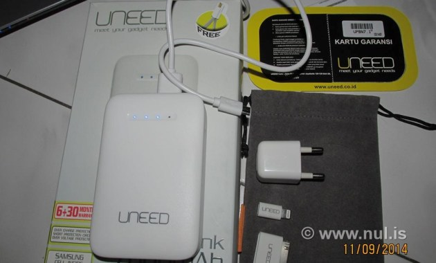 Powerbank UNEED 7800 mAh