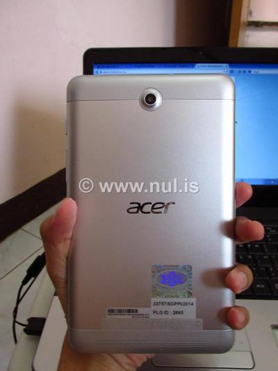Casing Belakang Acer Iconia Tab 7