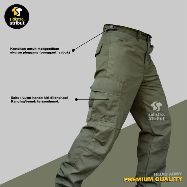 Keunggulan Celana PDL untuk Kegiatan Outdoor Hingga Naik Gunung - Celana PDL Hijau Army