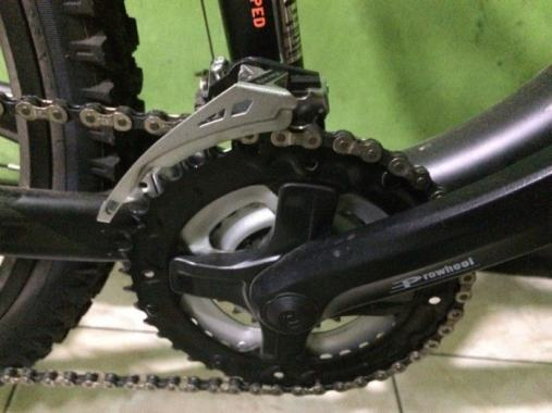 Ulasan Sepeda Pacific Turanza 2905 - Crankset Prowheel