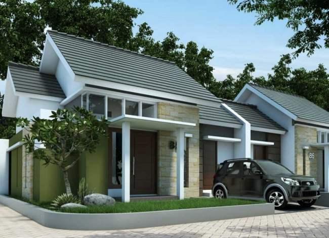 Desain rumah minimalis tipe 45