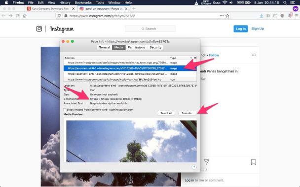 Cara Mudah Download Foto dan Video Instagram di PC Tanpa Aplikasi -