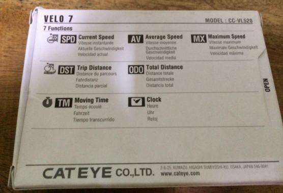 Review Speedometer Sepeda Cateye Velo 7 - Fitur Cateye Velo 7