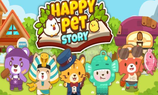 Biar Gak Bosan di Rumah Aja, Yuk Coba 7 Game Android Seru Ini! - Happy Pet Story